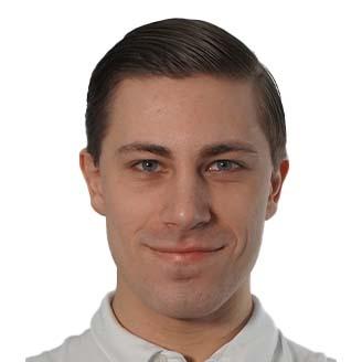Headshot of Mitchell deJong