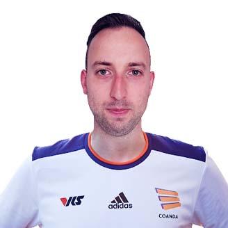 Headshot of Kevin van Dooren