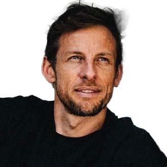 Headshot of Jenson Button